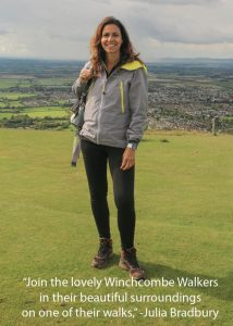 Follow Julia Bradbury's Footsteps