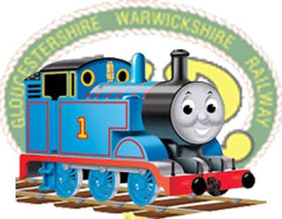 Thomas at GWSR
