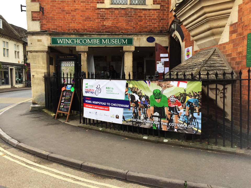 The Tour in Winchcombe