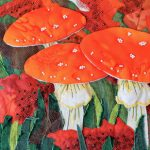 Toadstool painting