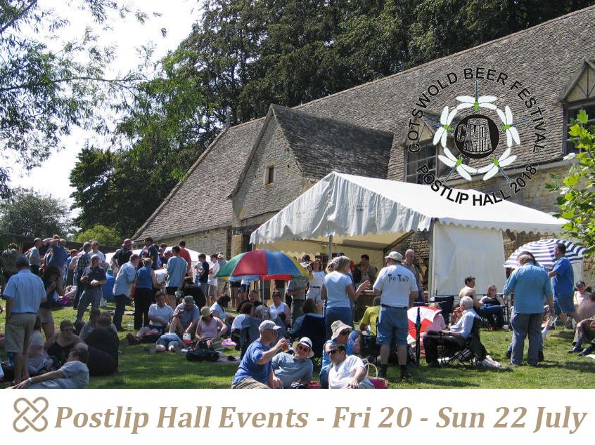 Postlip Hall Beer Festival Poster