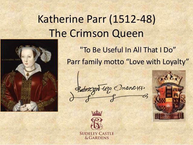 Katherine Parr Day