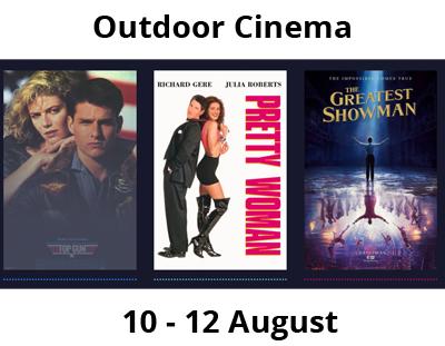 Outdoor Cinema at Sudeley Castle