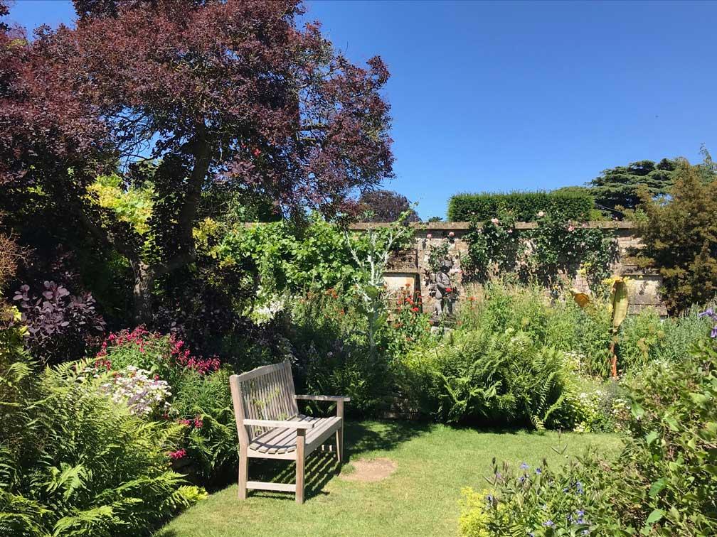 Secret Garden at Sudeley Castle