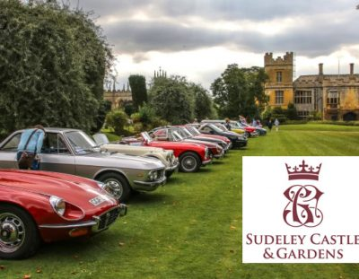 Classic Car Rally at Sudely Castle