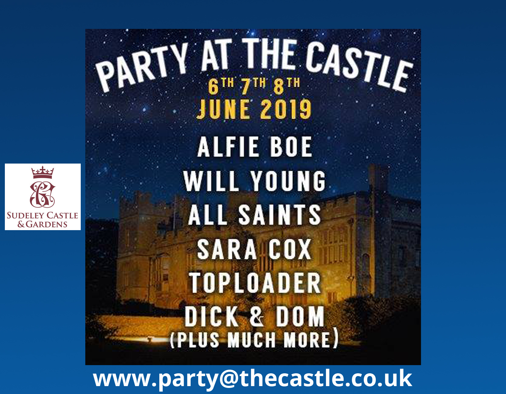 Party at the Castle