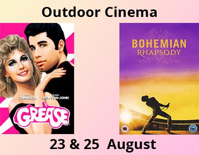 Outdoor Cinema Sudeley Castle